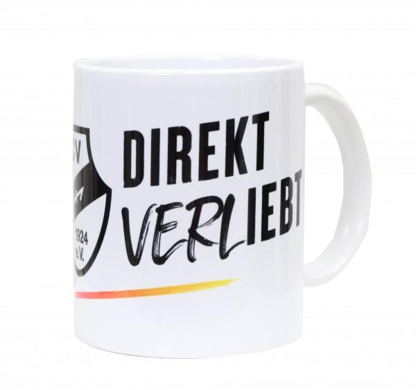 Direkt VERLiebt Tasse weiß