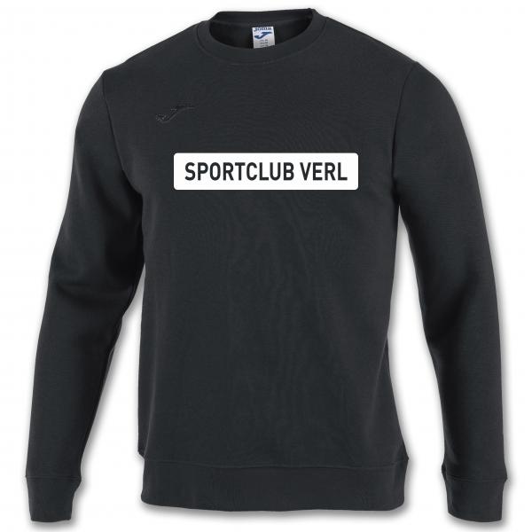 Sweatshirt Sportclub Verl schwarz
