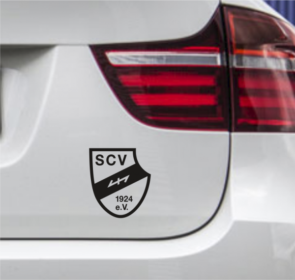 Autoaufkleber Sportclub Verl schwarz