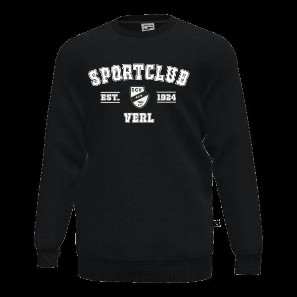 Joma Sweatshirt SC Verl EST: 1924 schwarz