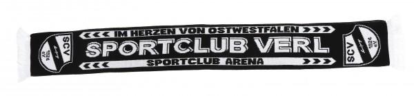 Schal Sportclub Verl schwarz