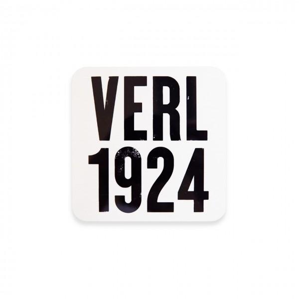 Verl 1924 Korkuntersetzer weiß