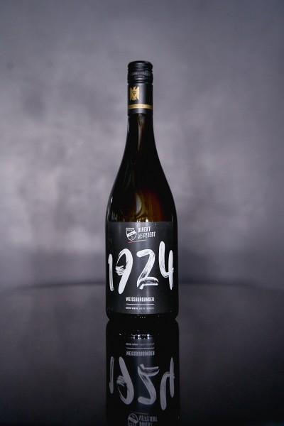 """""""1924"""" Weißburgunder Wein 0,75l"""