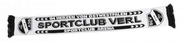 Schal Sportclub Verl weiß