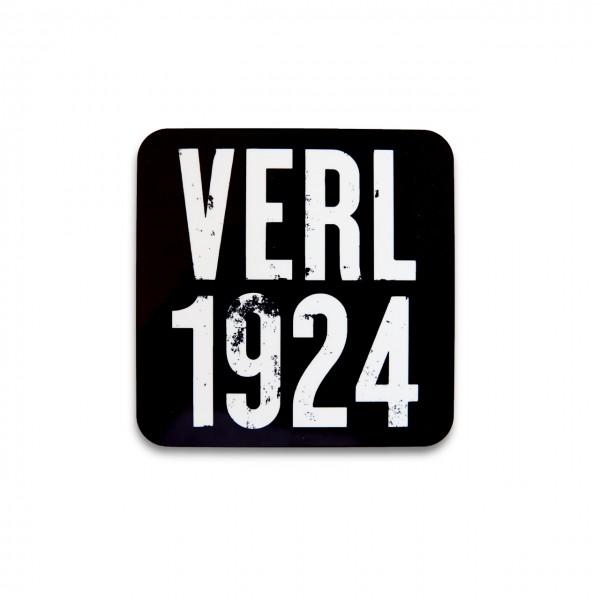 Verl 1924 Korkuntersetzer schwarz