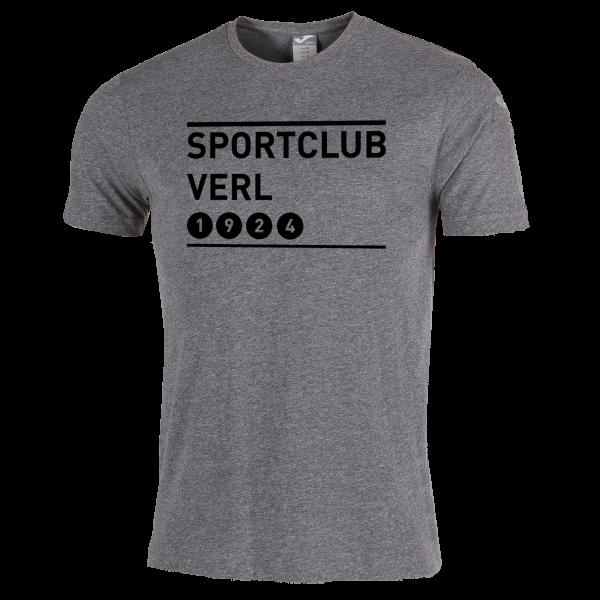 T-Shirt SPORTCLUB VERL 1924 grau